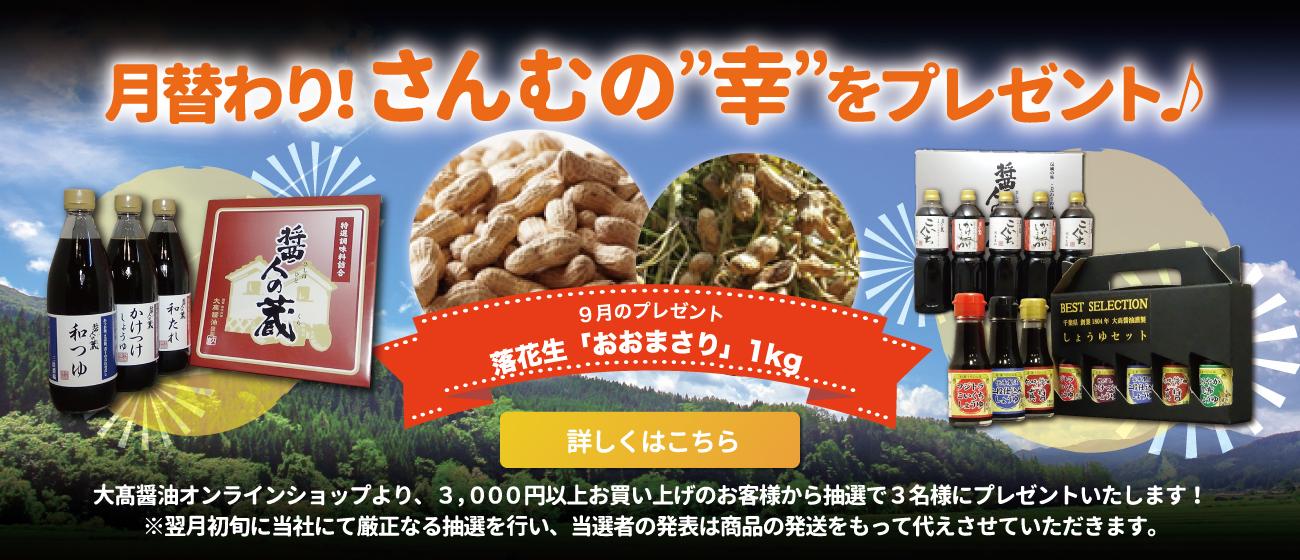 大高醤油キャンペーン